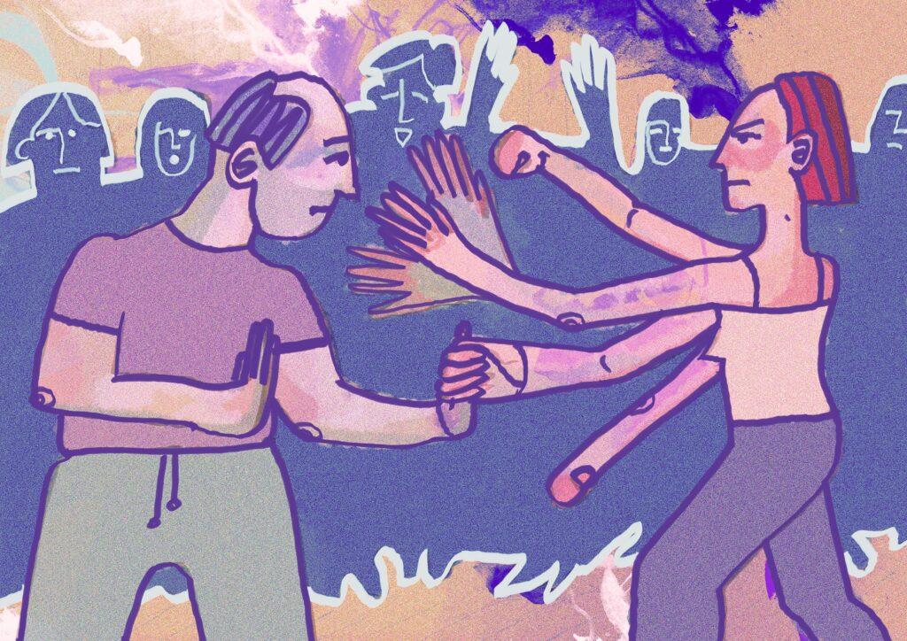 самооборона, тренинг, абьюз, насилие, изнасилование